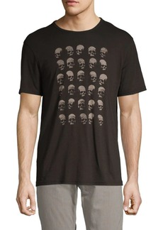 John Varvatos Skull Graphic Cotton Tee