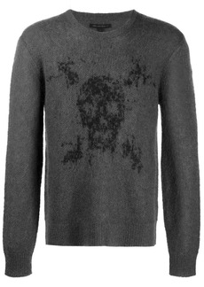 John Varvatos 'Skull' knitted jumper