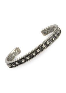 John Varvatos Skulls & Daggers Sterling Silver Cuff Bracelet