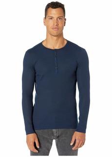 John Varvatos Slim Fit Long Sleeve Henley T-Shirt K2334V3