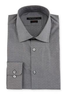John Varvatos Slim-Fit Micro-Check Dress Shirt