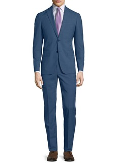 John Varvatos Slim-Fit Wool-Melange Two-Piece Suit