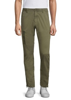 John Varvatos Slim-Fit Zip-Pocket Pants
