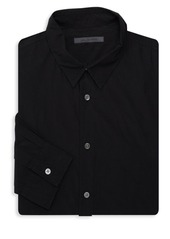 John Varvatos Solid Cotton Dress Shirt