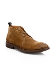 John Varvatos Stanton Suede Chukka Boots