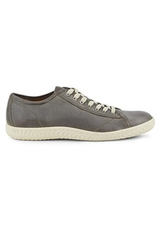 John Varvatos Star H Leather Low-Top Sneakers