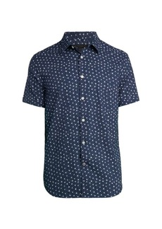 John Varvatos Star-Print Shirt