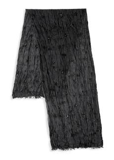 John Varvatos Star-Print Wool Scarf