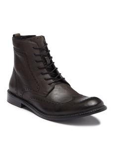 John Varvatos Star S Leather Wingtip Lace-Up Boot