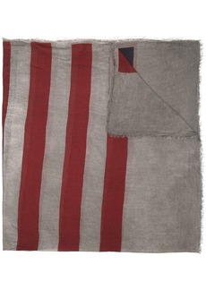 John Varvatos star striped scarf