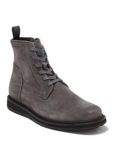 John Varvatos Star Suede Lug Lace Boot