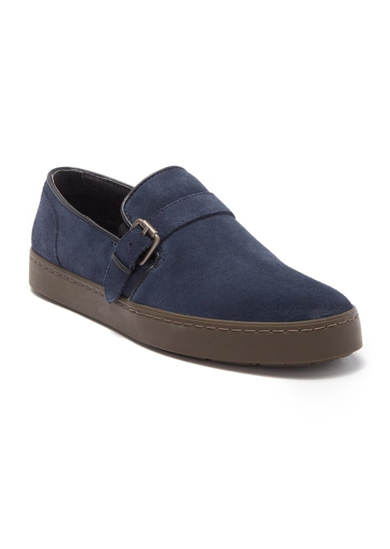 John Varvatos Star Suede Slip-On Sneaker
