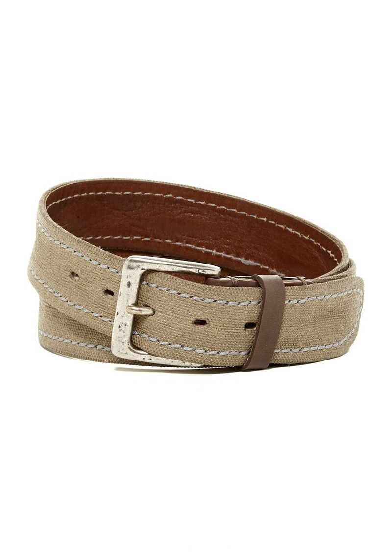 John Varvatos Stitch Fabric Belt