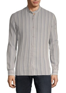 John Varvatos Striped Button-Down Shirt