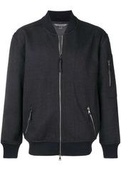 John Varvatos textured bomber jacket