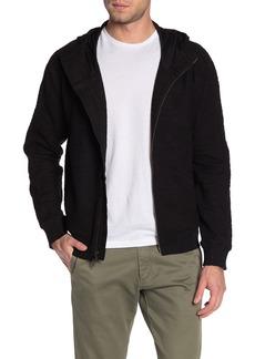 John Varvatos Textured Hooded Jacket