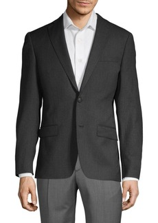 John Varvatos Textured Wool Jacket