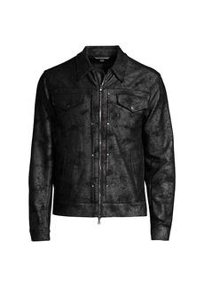 John Varvatos Tracker Distressed Jacket