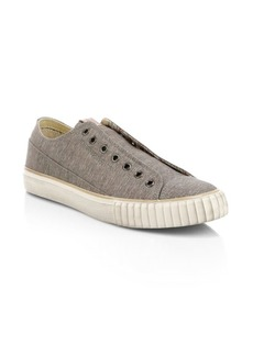 John Varvatos Two-Tone Low Top Sneakers