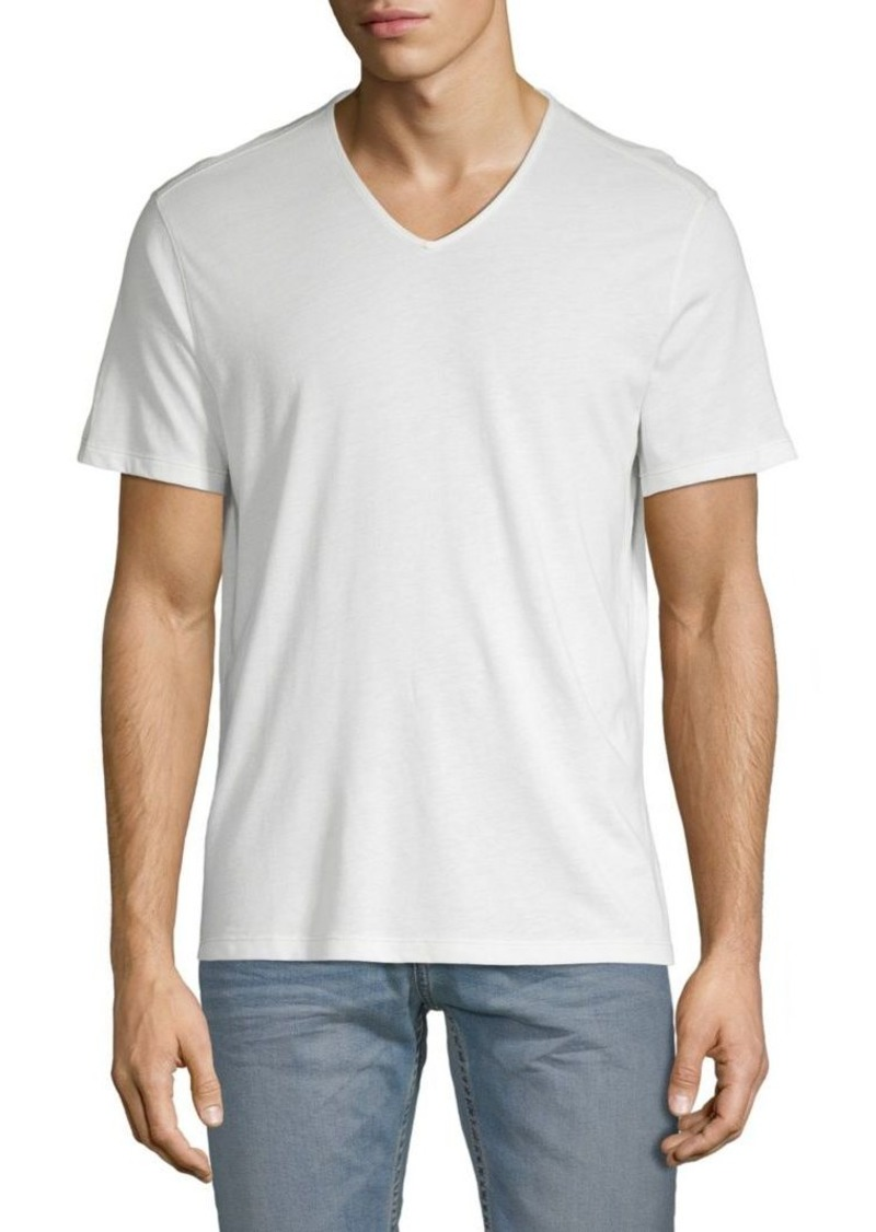 John Varvatos V-Neck Cotton-Blend Tee