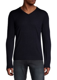 John Varvatos V-Neck Wool Sweater