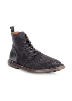 John Varvatos Venice Suede Lace-Up Boots