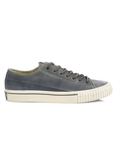 John Varvatos Vulcanized Low-Top Leather Sneakers