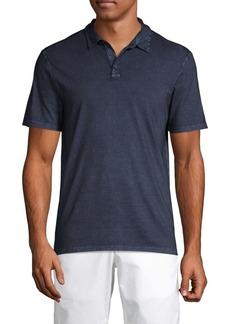 John Varvatos Washed Cotton Polo