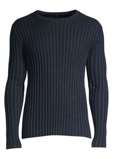 John Varvatos Wide Rib Sweater