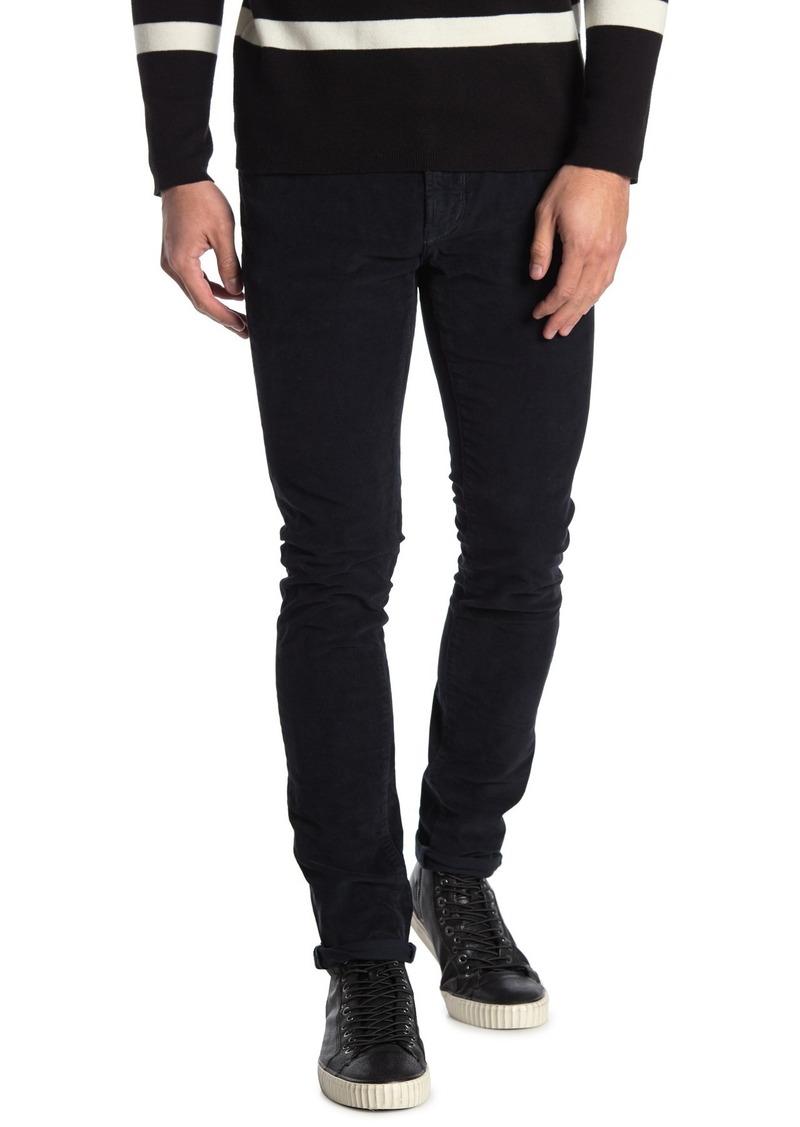 John Varvatos Wight Corduroy Skinny Pants