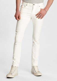 John Varvatos Wight Fit Knee Patch Jeans