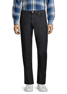 John Varvatos Woodward-Fit Straight-Leg Jeans