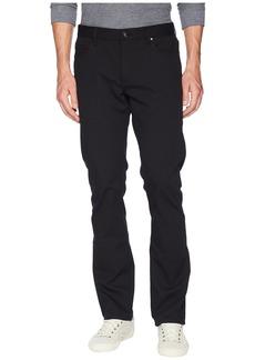 John Varvatos Woodward Slim Straight Jeans in Black
