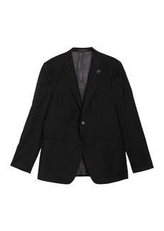 John Varvatos Wool Notch Collar Double Button Jacket