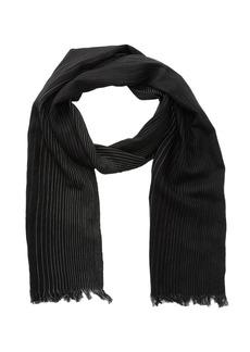 John Varvatos Woven Ombre Merino Wool Stripe Scarf