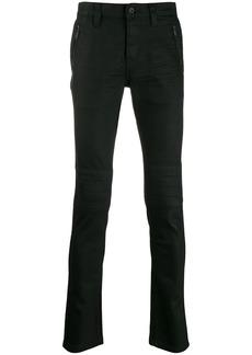 John Varvatos zip detail trousers