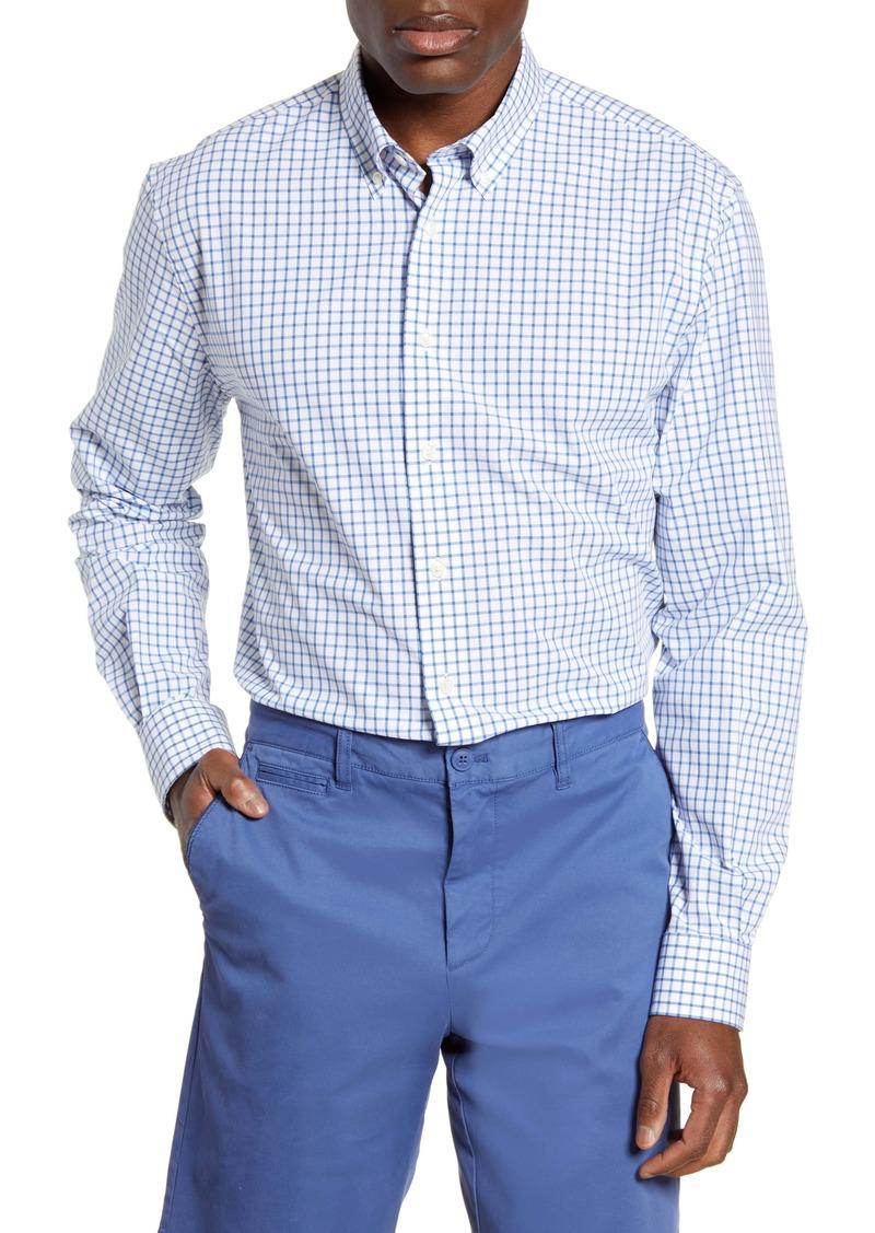 johnnie-O Alumni Classic Fit Check Button-Down Shirt