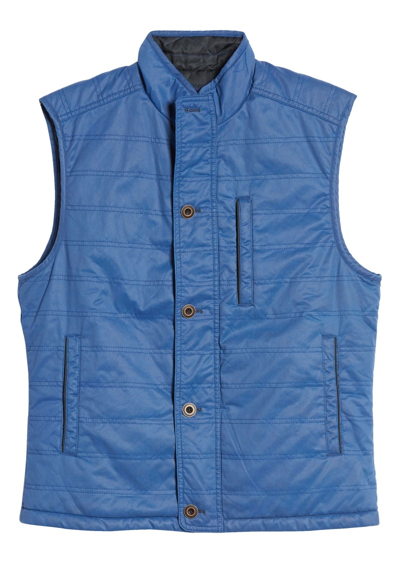 johnnie-o Berg Reversible Quilted Vest