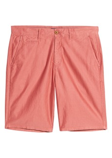 johnnie-O Bombay Pima Cotton Flat Front Shorts