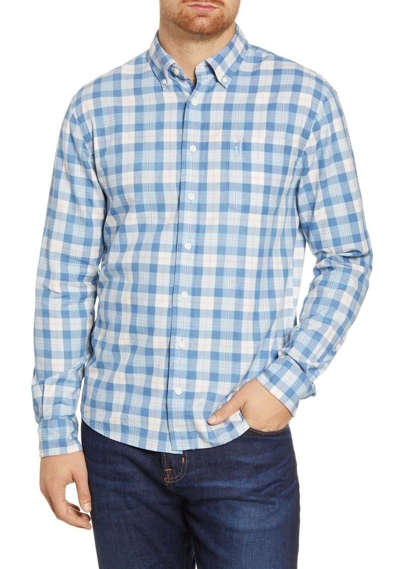 johnnie-O Brighton Classic Fit Check Button-Down Shirt