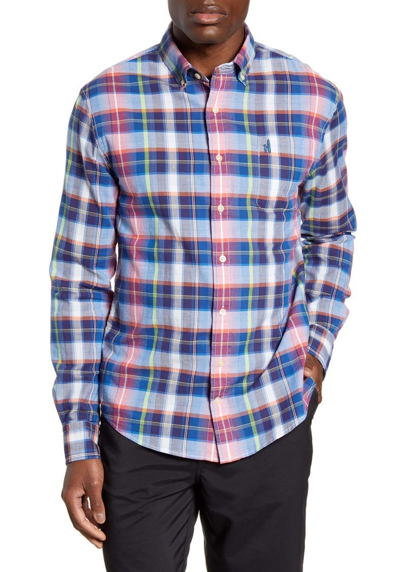 johnnie-O Ethan Hangin Out Classic Fit Plaid Button-Down Shirt