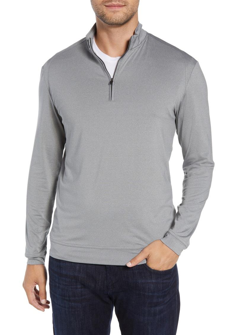 johnnie-O Flex Classic Fit Quarter Zip Pullover