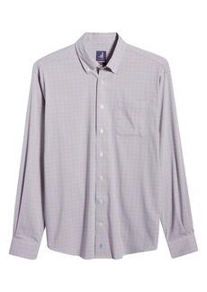 johnnie-O Gallagher Prep Performance Check Button-Down Shirt