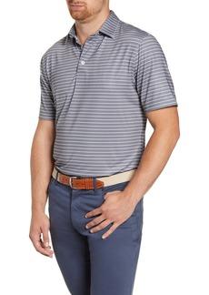 johnnie-O Gus Classic Fit Stripe Stretch Jersey Polo