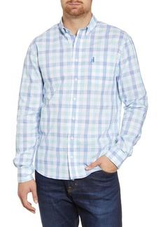 johnnie-O Humphrey Classic Fit Check Button-Down Shirt