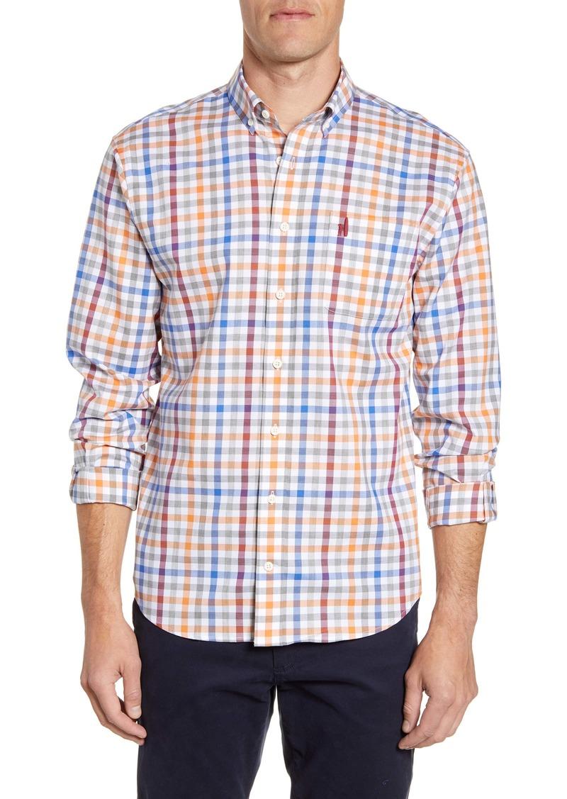 johnnie-O Jackson Classic Fit Plaid Button-Down Shirt