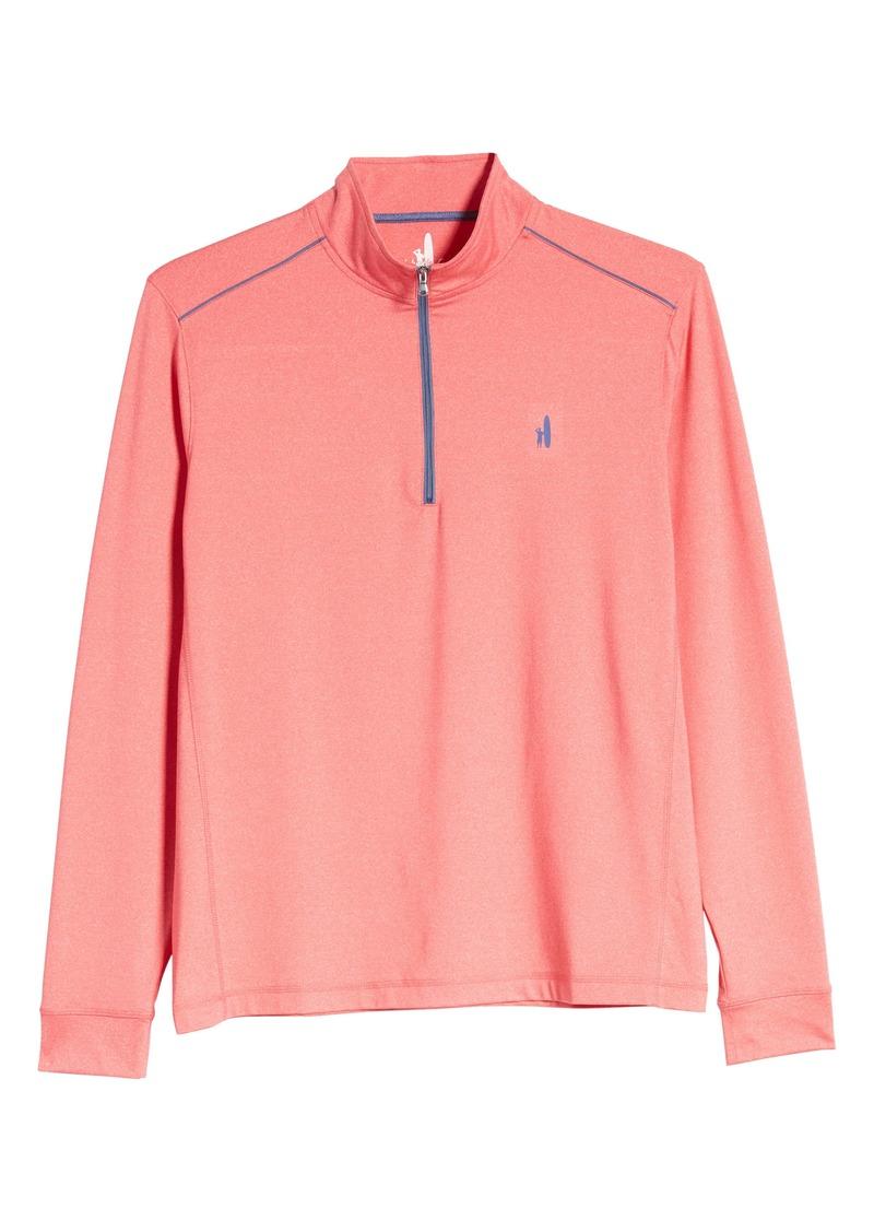 johnnie-O Lammie Regular Fit Quarter Zip Prep-Formance Pullover