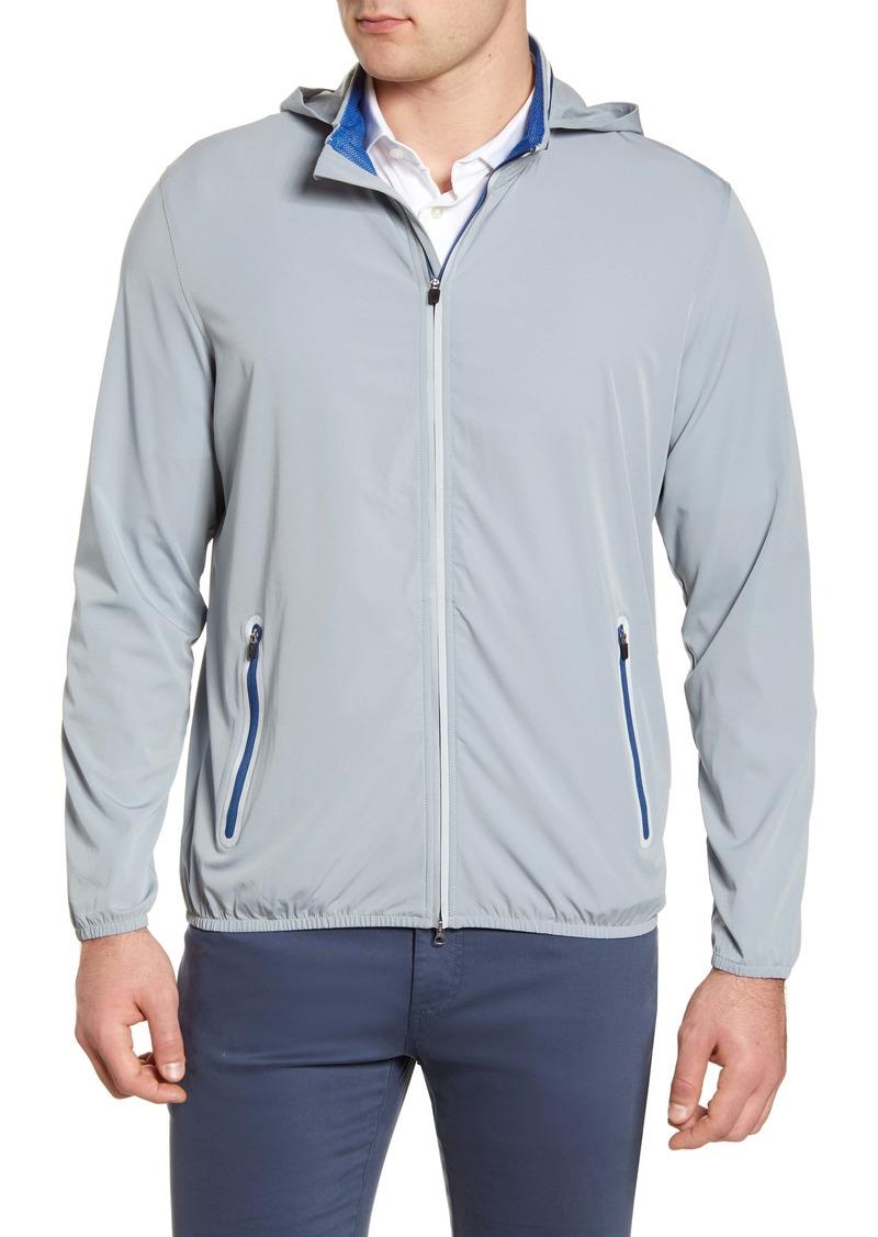 johnnie-O Lightweight Hooded Jacket