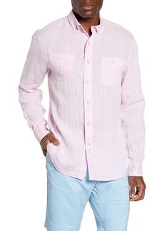johnnie-O Mackle Classic Fit Linen Shirt
