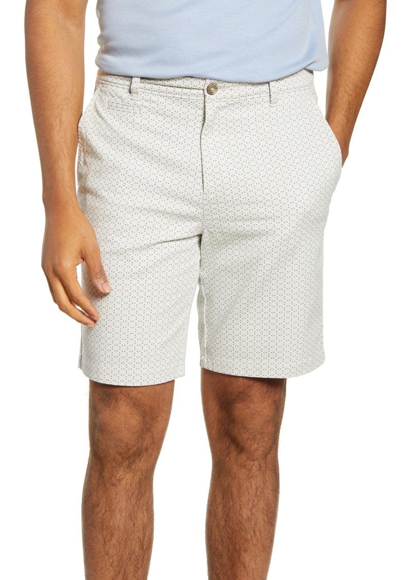 johnnie-O Nate Geo Print Chino Shorts